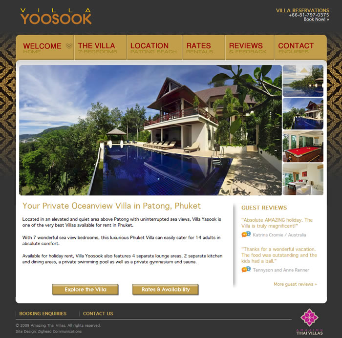 phuket website design
