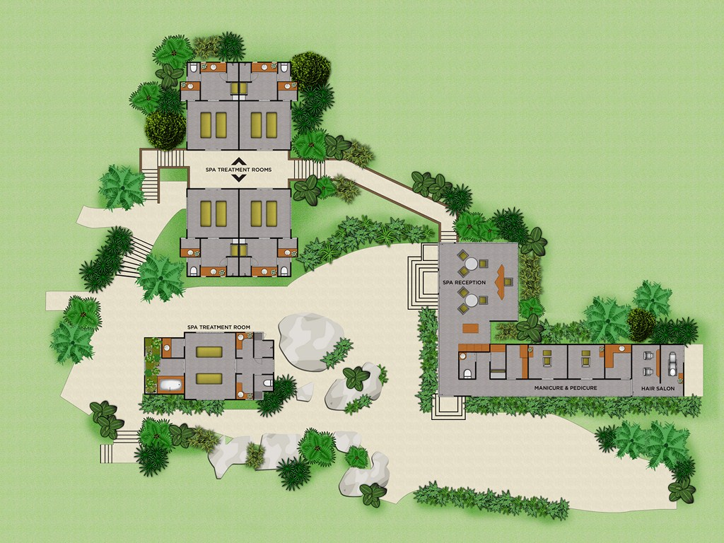 Floor Plans for Hotels, Resorts, Real Estate Sales