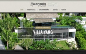 website design holiday rentals