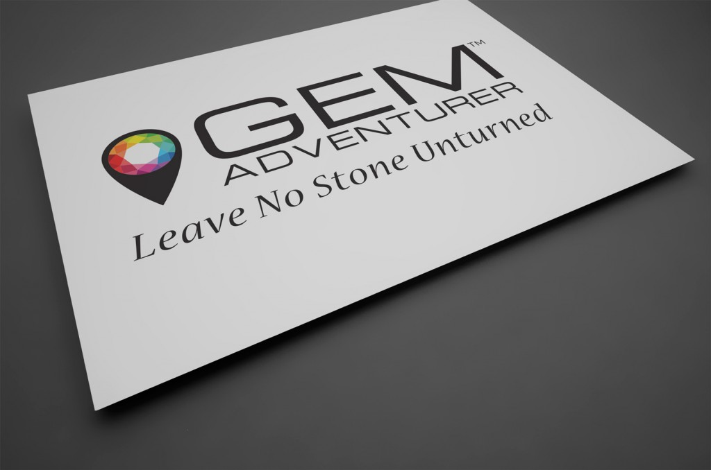 Gem Adventurer™ Logo with Strap Line